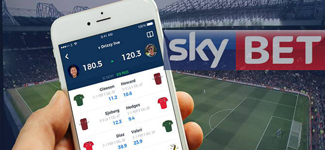 Get a free bet of 5 GBP every week with SkyBet bookmaker!