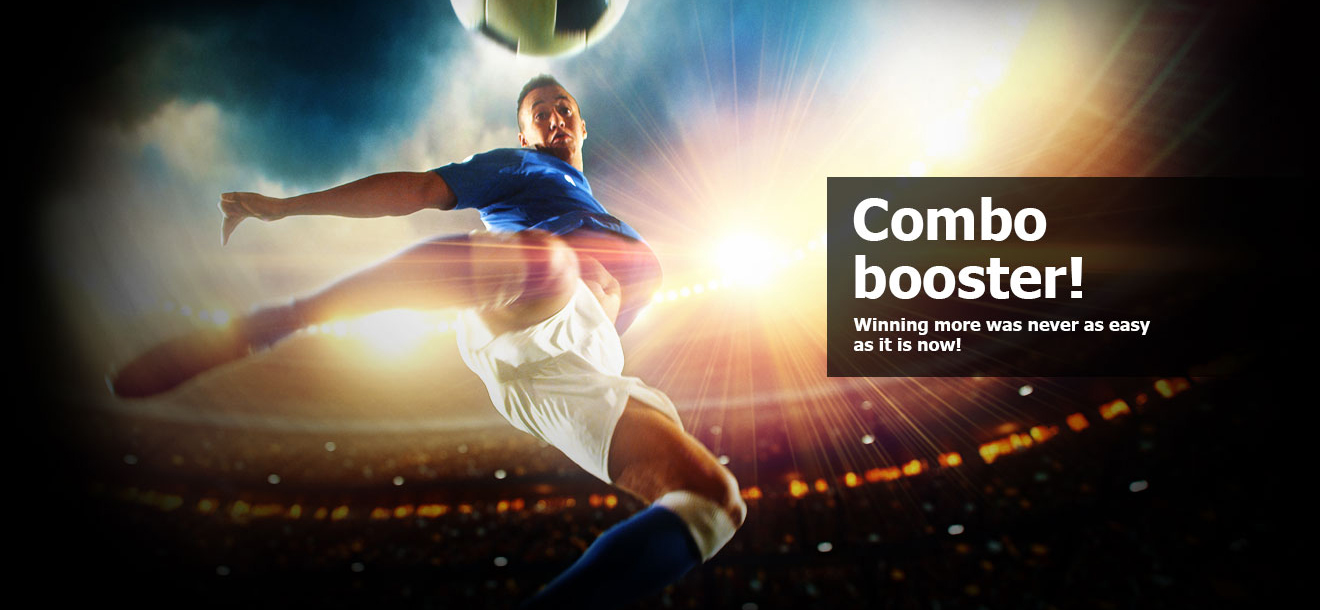 60% Multiplier bonus for the top football leagues with Winmasters!