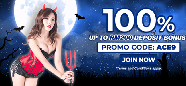 You will be granted with extra credits of 100% with Sbobet bookmaking company!
