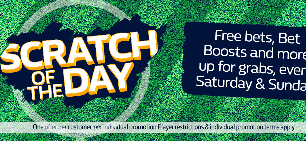 Weekend scratch promo from William Hill bookmaker!
