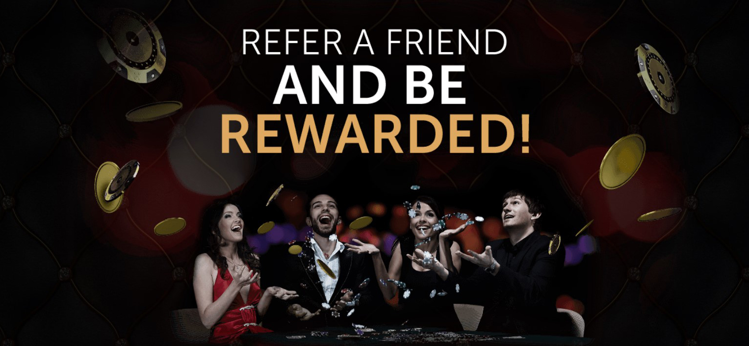 Refer a friend to Bet On Aces and receive up to €100 in Bonuses!