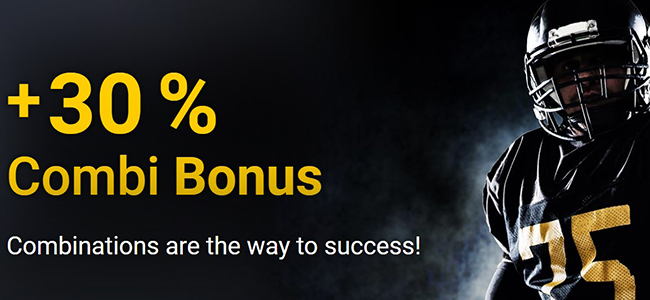 X-tip bookmaker has prepared a combi bonus for your entertainment!