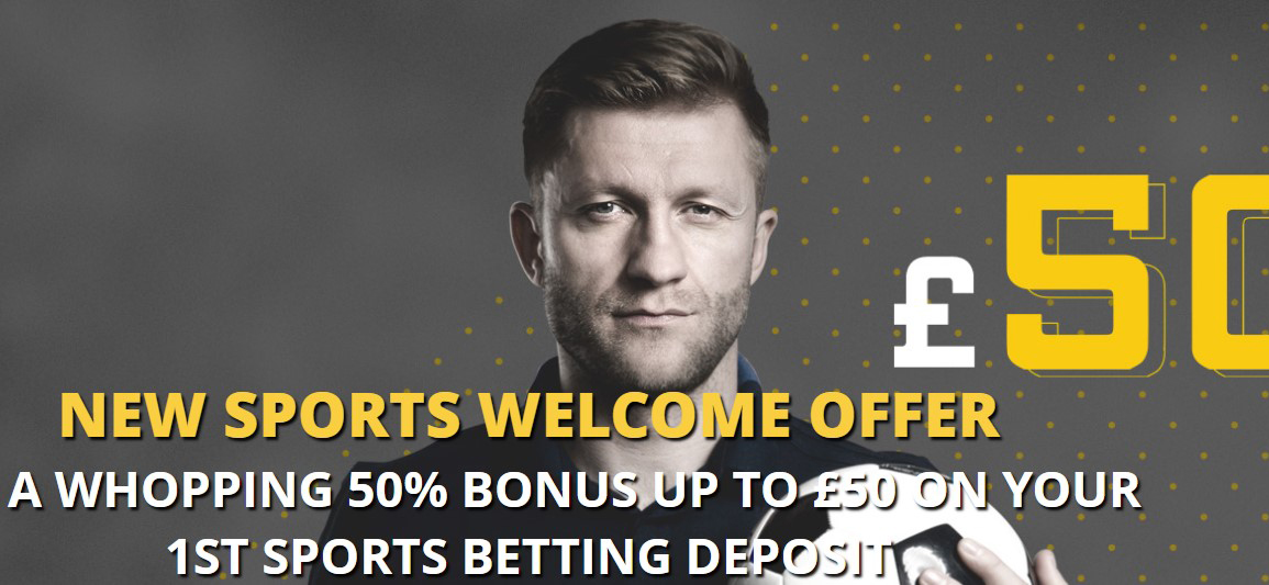 Brand new sports welcome offer from LVBET!