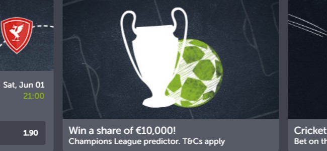 Predict the Champions League final winner with ComeOn! Bookmaker and win big!