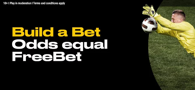 Odds equal free bet with Bwin bookmaking company's new promotional offer!