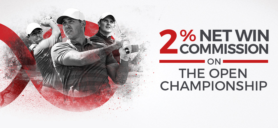 Bet on The Open Championship with Matchbook and get 2% Net Win Commission!