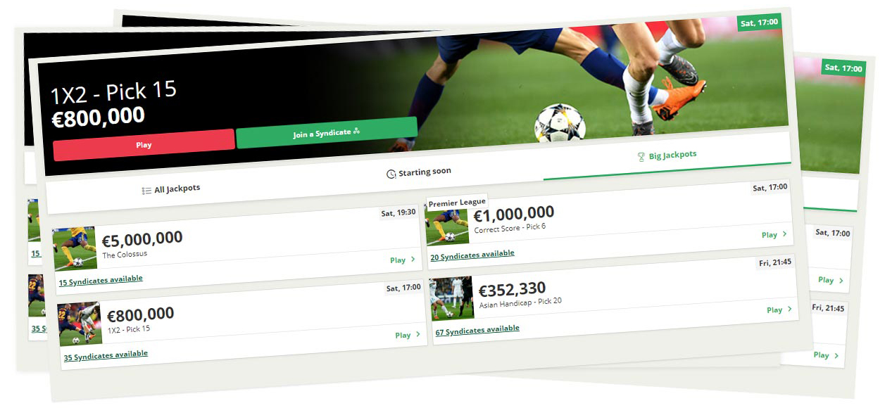 Paf betting jackpot pools promo!