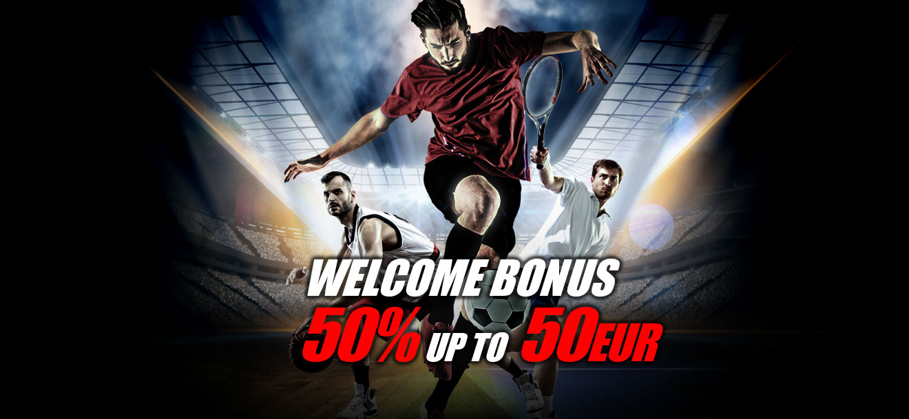 Winmasters bookmaking company invites you to register and get a bonus of up 50 EUR!
