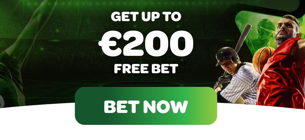Spin Sports bookmaking operator is giving you a free bet of up to 200 euros,if  you choose to register with the bookie!