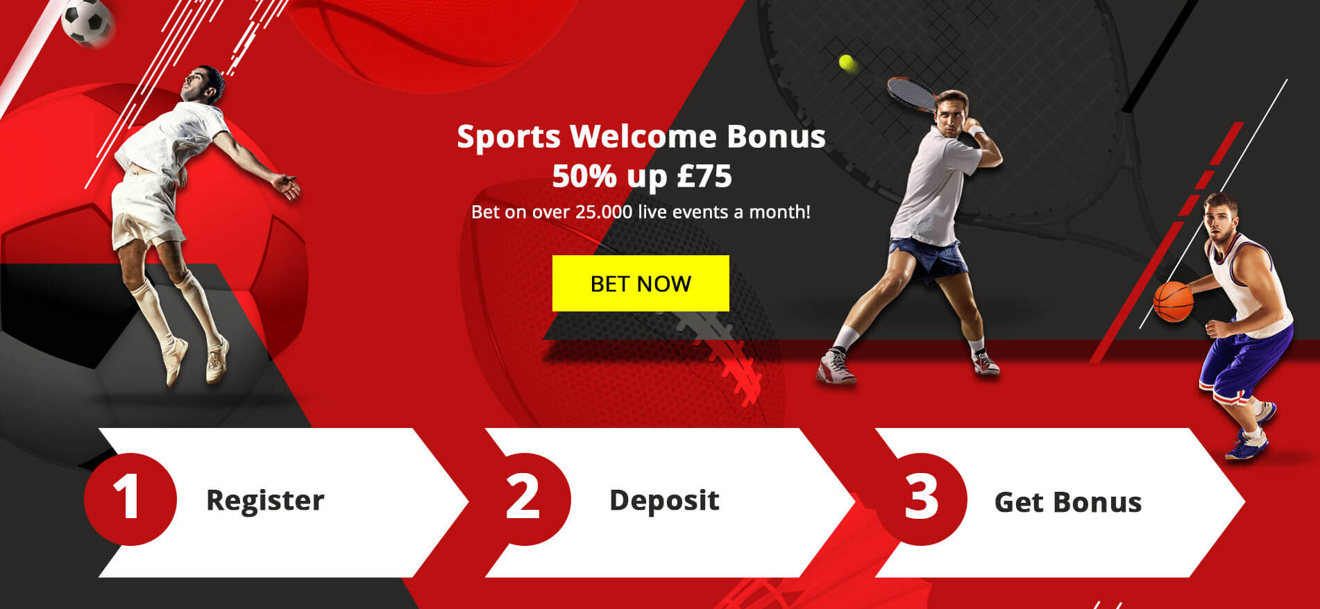 Jetbull betting operator has prepared a 50% invitation offer to start wagering on more that 25 000 live ents with the bookie!