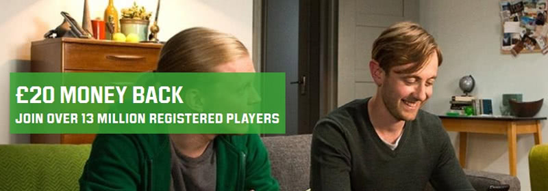 Unibet Bonus for new customers only