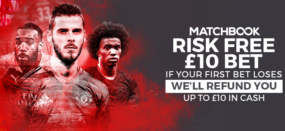 Free £10 Bet Sign Up Offer from Matchbook bookmaker!
