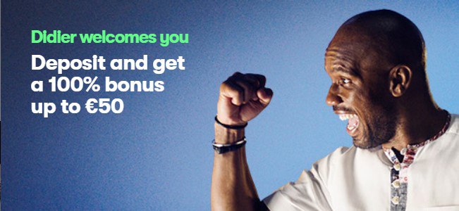 Didier Drogba invites you to join 10Bet with new welcome bonus!