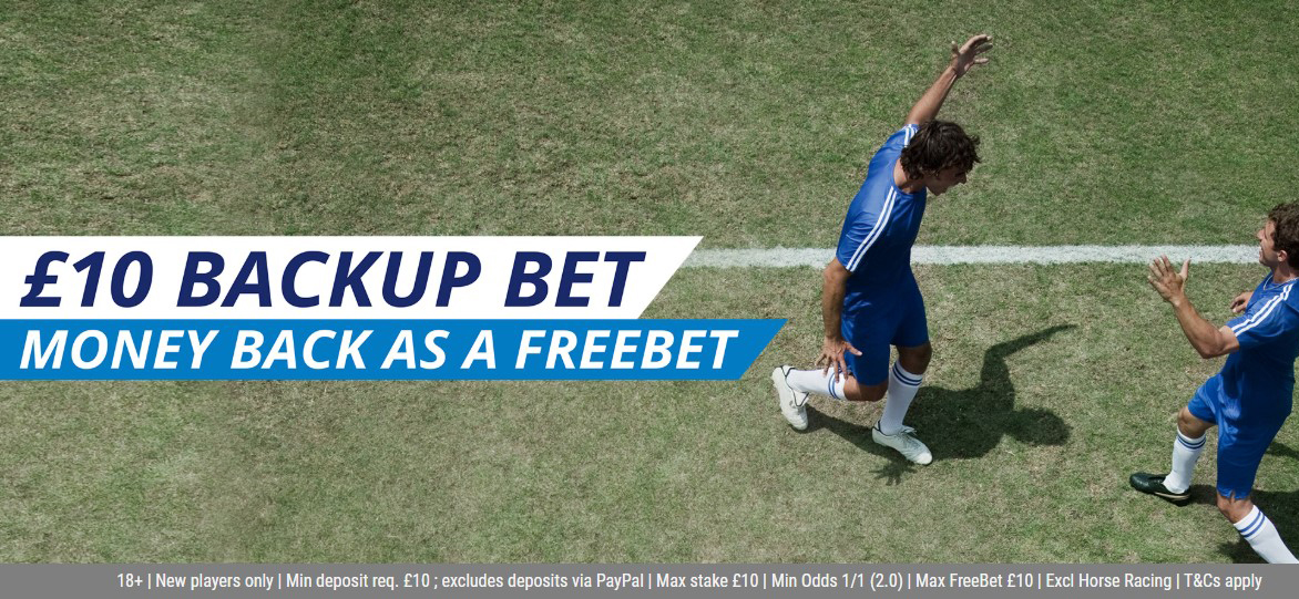 Get your money back as a free bet with Sportingbet bookie!