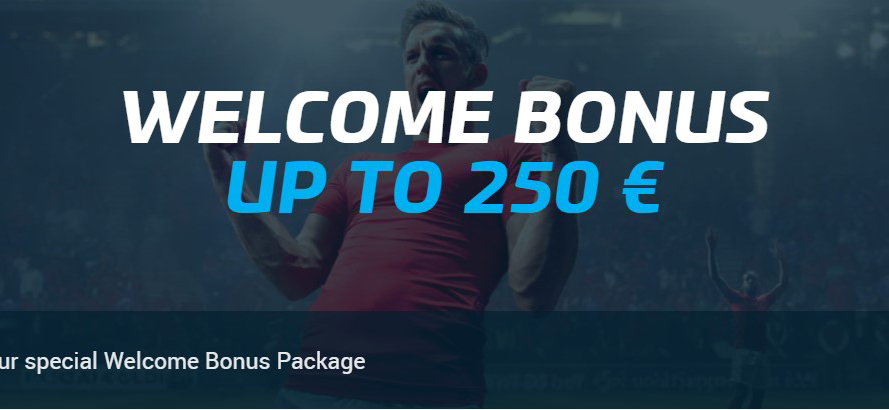 Invitation bonus of up to 250 EUR by MyBet bookmaking operator!