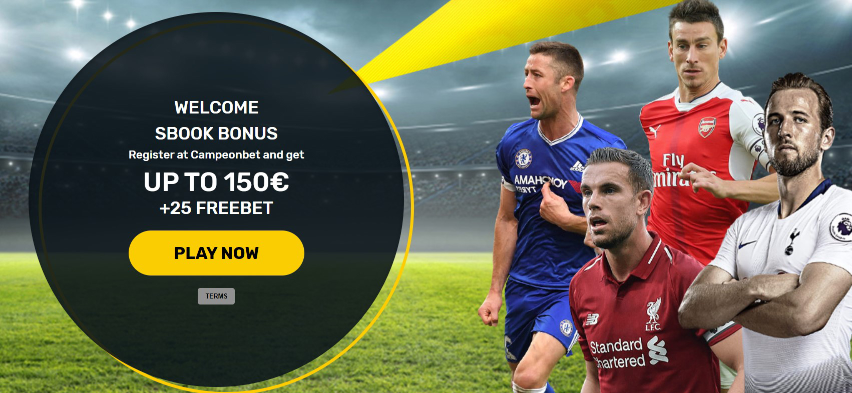 Campeonbet welcomes new customers with a generous offer!