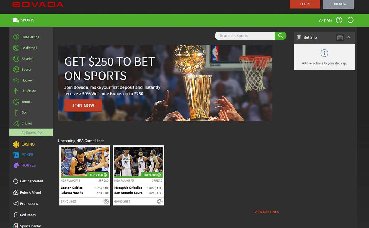 Bovada Review & Ratings • RatingBet net