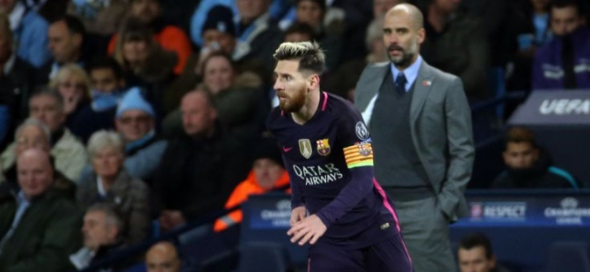 Guardiola about Messi: He shouldn't be running for no reason