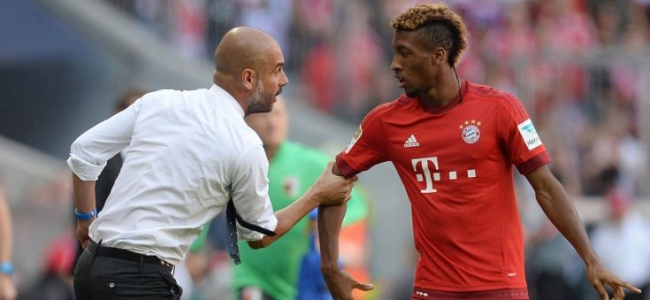 Man City are following Coman