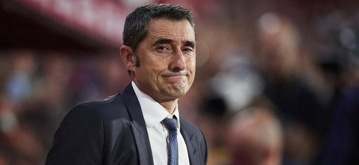 Catalan Barcelona head coach Ernesto Valverde commented on the latest rumors of the team