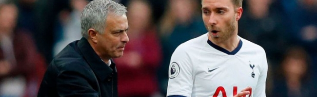 Mourinho doesn't want to let Eriksen go