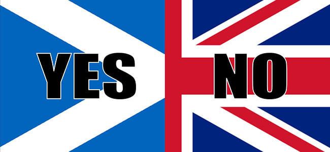 Bookmakers predict the possibility of referendum in Scotland