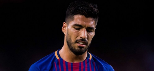 Barcelona are looking for Suarez's replacement