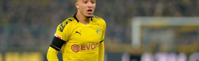 Liverpool are interested in Jadon Sancho