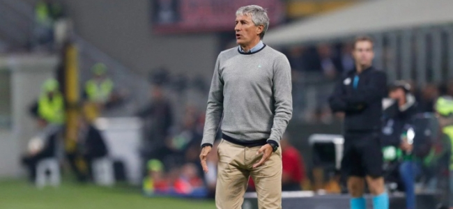 Barcelona intend to sack Setien