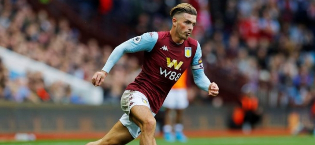 Manchester City see Grealish as replacement for Sane