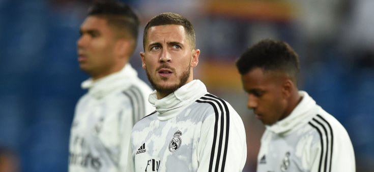 Real Madrid Belgian winger Eden Hazard evaluated his own game for the team this season