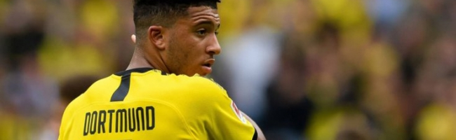 Manchester United bargaining for Sancho