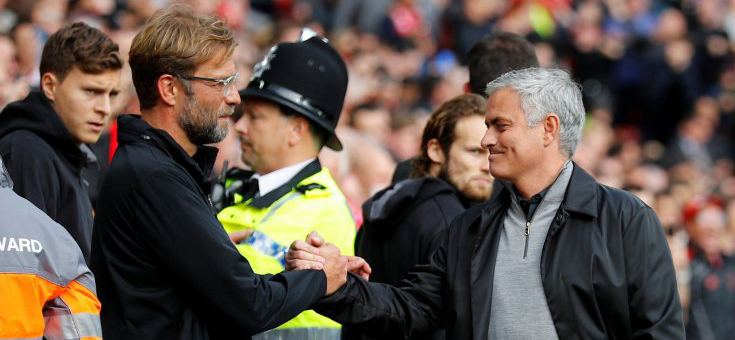 Klopp and Mourinho found points of contact