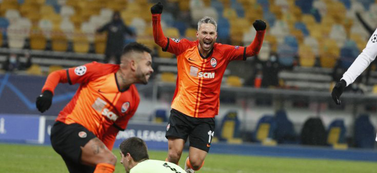 Shakhtar smash Real for the second time