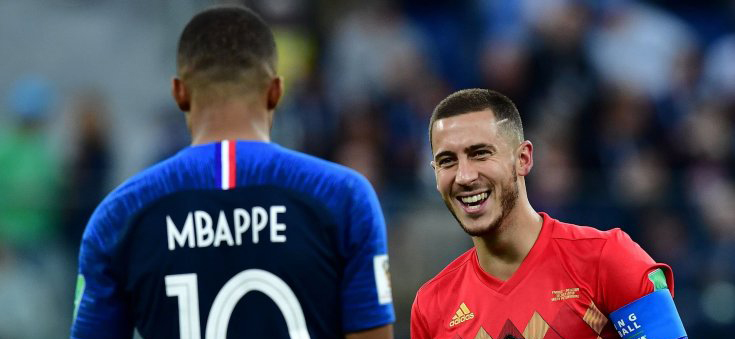 Real may exchange Hazard for Mbappe