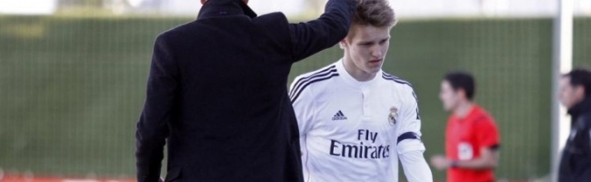 Odegaard is moving to Arsenal
