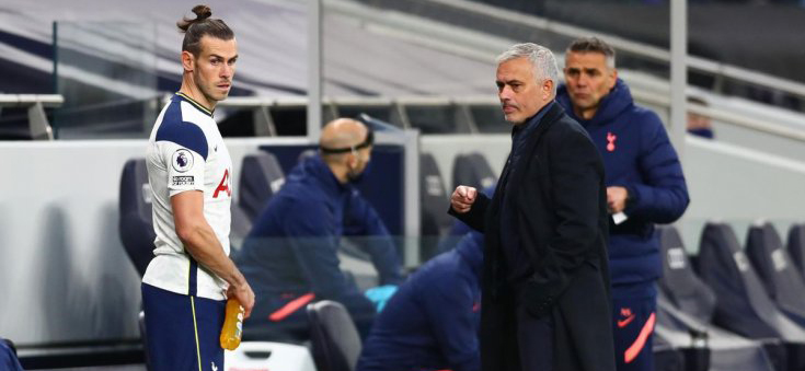 Mourinho isn't happy with Bale's arrival