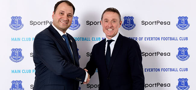 SportPesa signed a contract with Everton