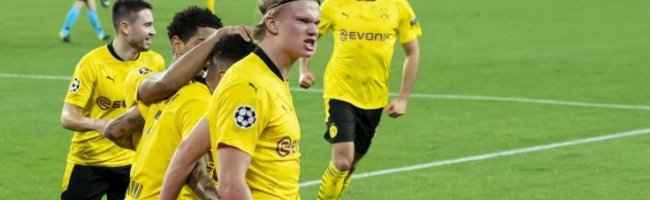 Haaland leaves Borussia good chances