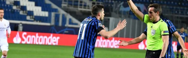 Atalanta could not withstand the match against Real