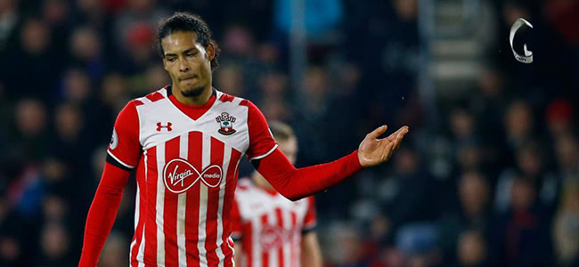 Bookmakers have reestablished betting on Van Dijk