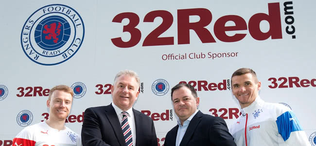 Rangers have extended their agreement with 32Red