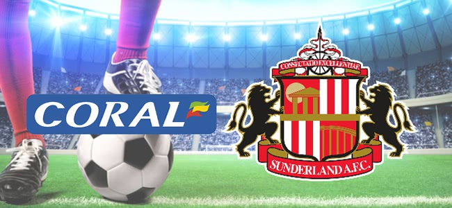 Coral has become Sunderland's betting partner