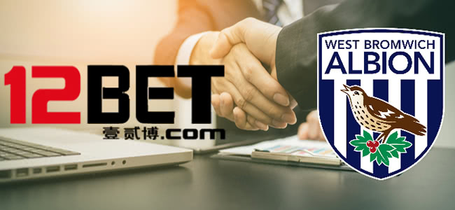 West Bromwich have signed a contract with 12BET