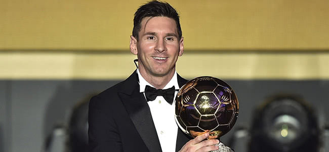 Bookmakers predict 2018 Ballon d'Or for Messi