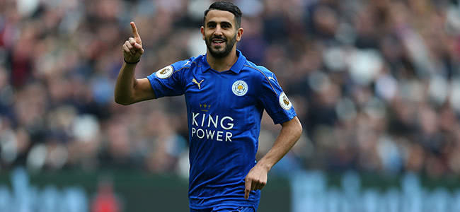 Mahrez to remain in Leicester