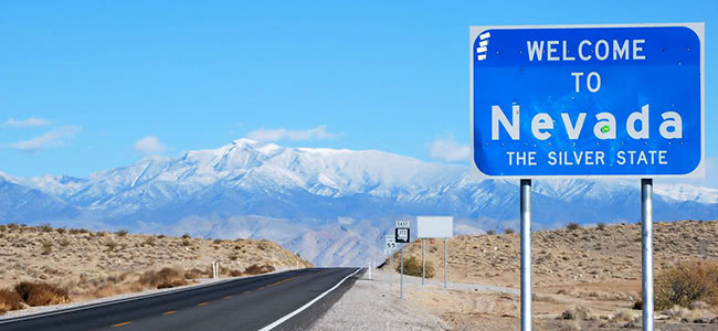 Gambling revenues decreased in Nevada
