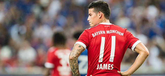 Bookmakers talk about James' transfer to Liverpool