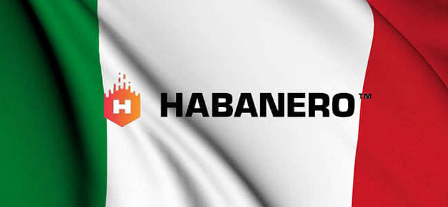 Habanero has entered the Italian gambling market