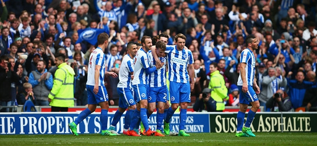 Brighton and Hove Albion are the best debutants of the season